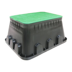 Valve boxes palaplast the cap of rectangular valve boxes 12 14 jumbo can accommodate lock for extra security publicscrutiny Images