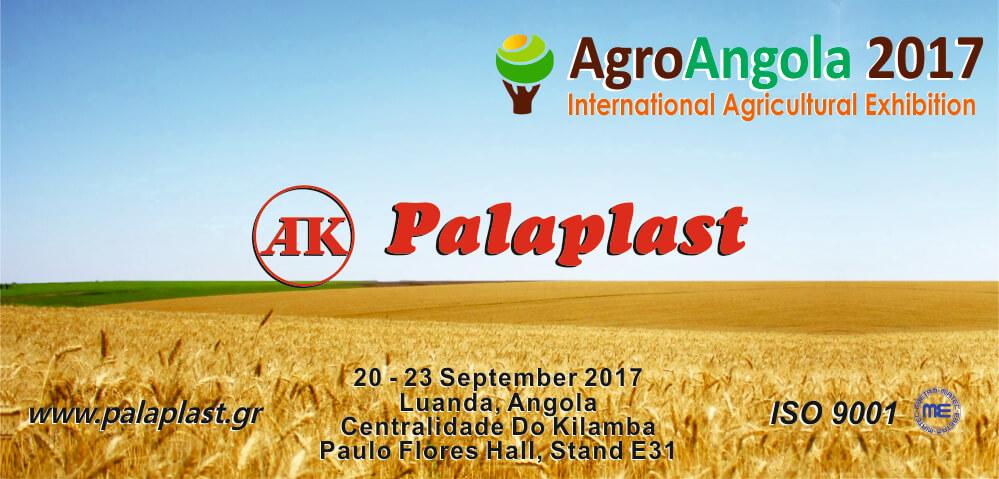Exhibition: AgroAngola 2017 - Palaplast